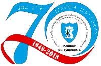 Logotyp: 70-lecie Ośrodka